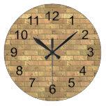 Beautiful Rustic Brick wall Texture Wallclocks