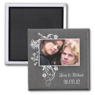 beautiful save the date magnets