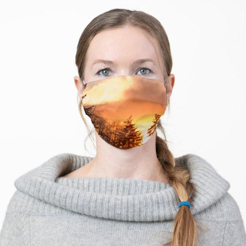 Beautiful Sunset Cloth Face Mask