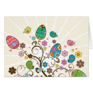 Beautifull East Eggs Design! Greeting Cards