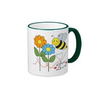 Bee Love Coffee Mugs