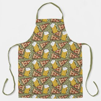 Beer and Pizza Apron