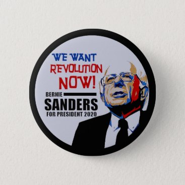 Bernie Sanders President 2020 Pinback Button