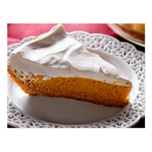 Best Ever Pumpkin Chiffon Pie Recipe Postcard
