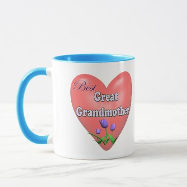 Best Great Grandmother Mothers Day Gifts Mug