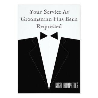 Best Man or Groomsman Invite