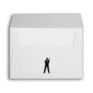 Best Man or Groomsman Invite Envelope