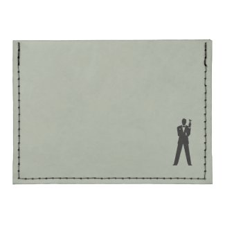 Best Man or Groomsman's Card Case Wallet