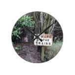 Beware of the Trains! - Range Round Clock