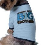 big brother t-shirt dog tee shirt