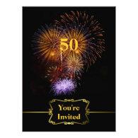 Big Celebration Birthday Invitation