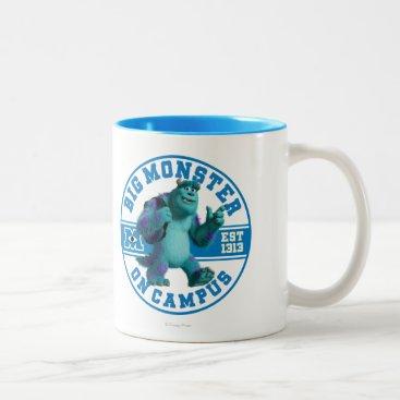 Big Monster on Campus Two-Tone Coffee Mug