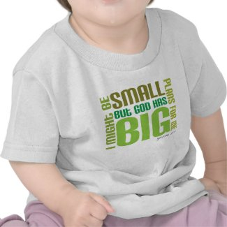 Big Plans Christian baby t-shirt