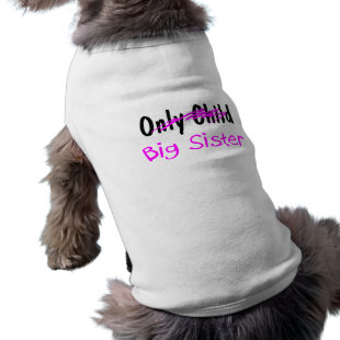 Big Sister Dog Tshirt