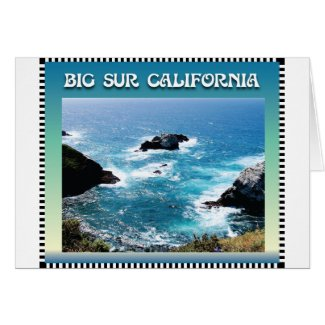 Big Sur California Greeting Card
