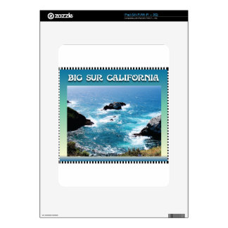 Big Sur California iPad Decal