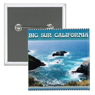 Big Sur California Pinback Button