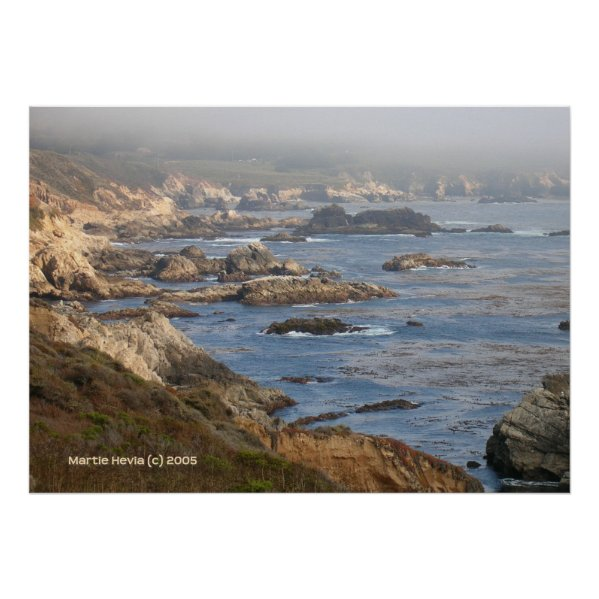 Big Sur Rocky Coast print
