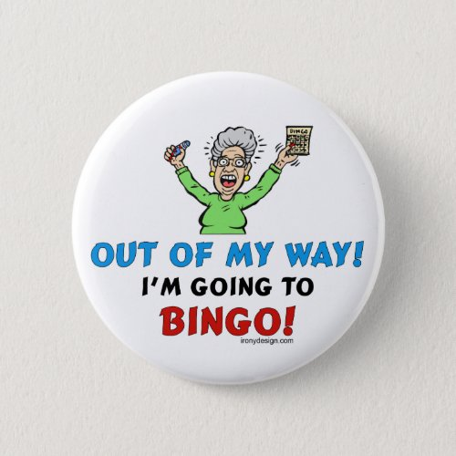 Bingo Lovers Button