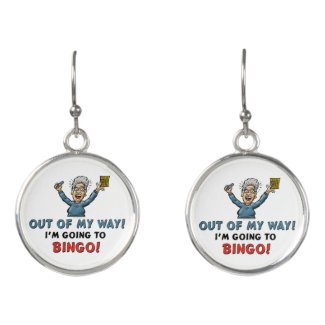 Bingo Lovers Earrings