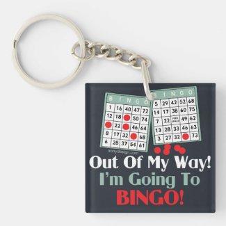 Bingo Players Keychain