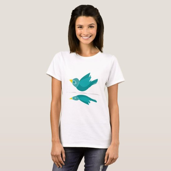 Bird Flying Women's Basic T-Shirt