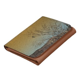 Bird in a tree wallets