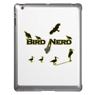 Bird Nerd Silhouette Cover For iPad