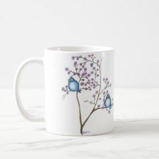 Birds and Blossoms Mug mug
