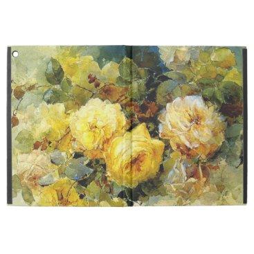 "Bischoff - Roses (yellow) iPad Pro 12.9"" Case"