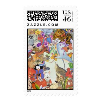 Bits & Bobs Collage 2 postage stamp stamp