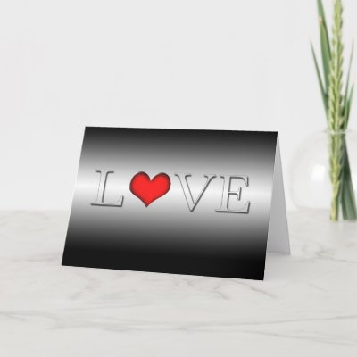 The word Love in elegant letters on a black and white gradient background.
