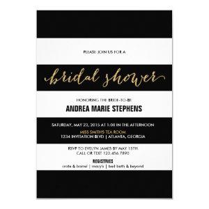 striped invitations