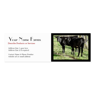 Angus Cow Business Cards Amp Templates Zazzle
