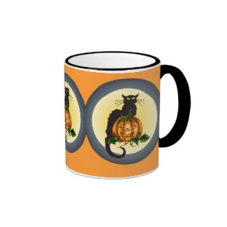 Halloweeen Black Cat Cup