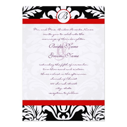 Purple And Red Wedding Invitations 900 Purple And Red