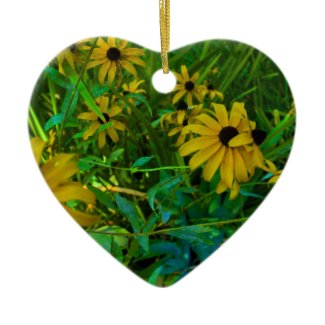 Black-Eyed Susans ornament