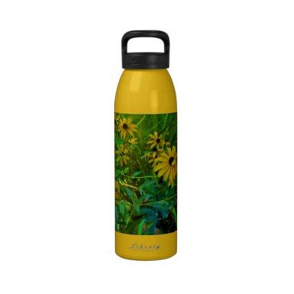 Black-Eyed Susans Water Bottle