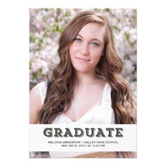 Black Graduate Senior Portrait