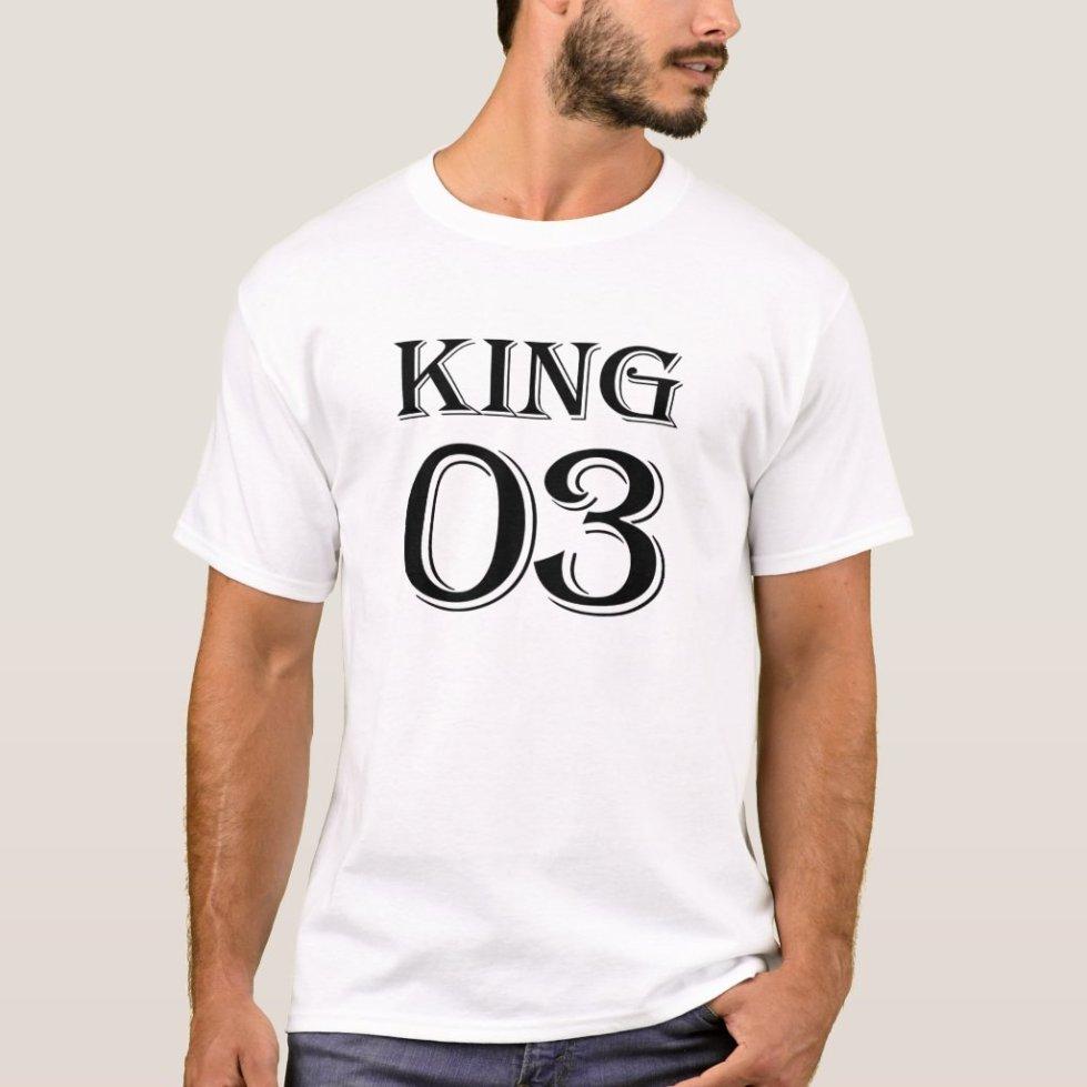 Black King 03 T-Shirt