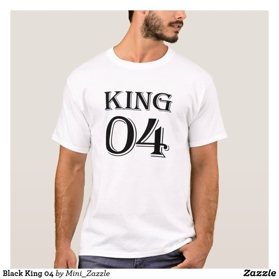 Black King 04 T-Shirt