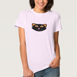 Black Cheshire Cat T Shirt