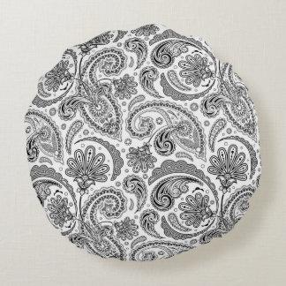 Linen Damask Print Green Black 12x20 Throw Pillow From Decor