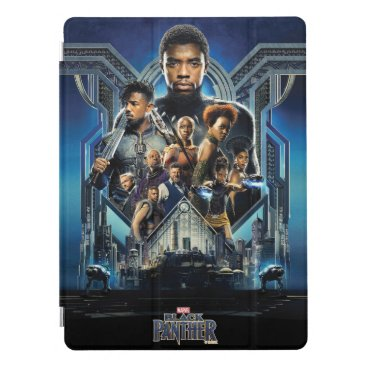 Black Panther | Characters Over Wakanda iPad Pro Cover
