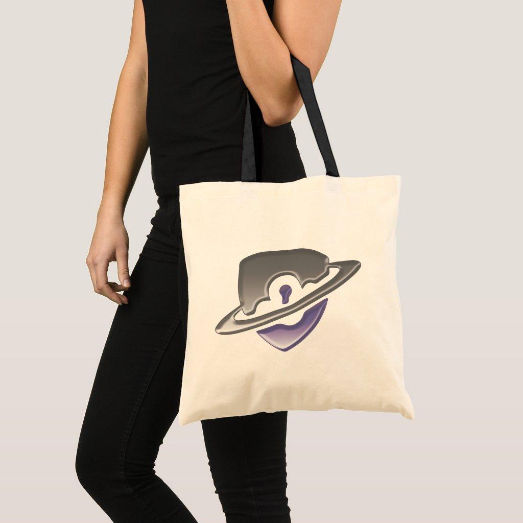 Blackwood logo tote bag - Purple