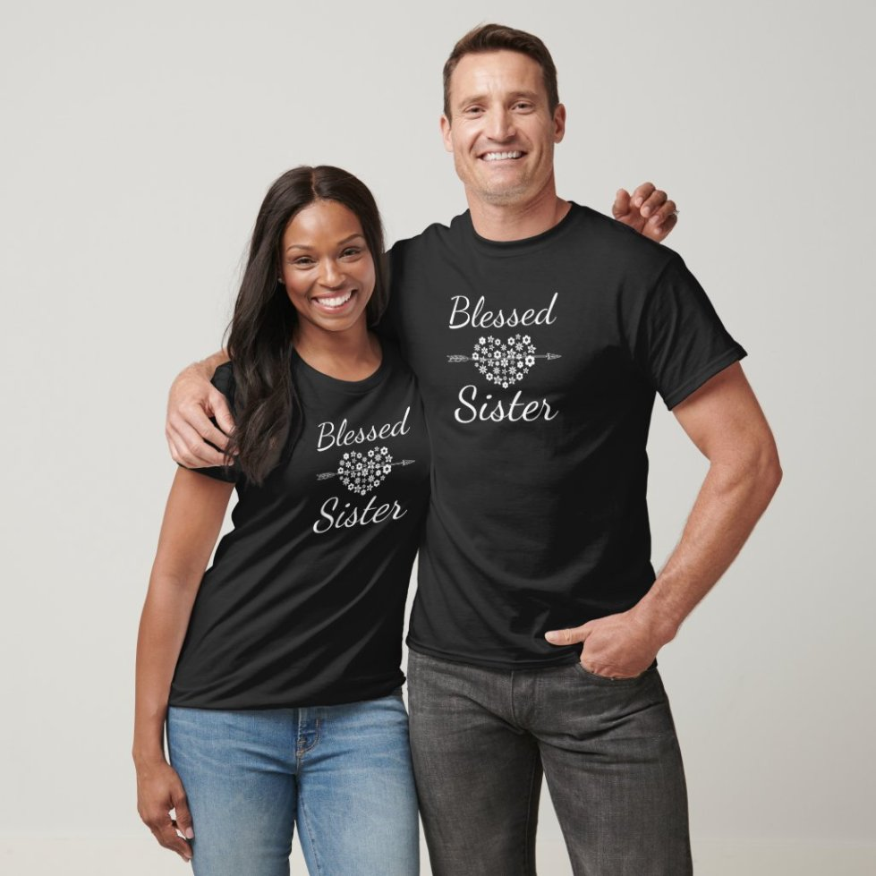 Blessed Sister BFF Shirts For 5