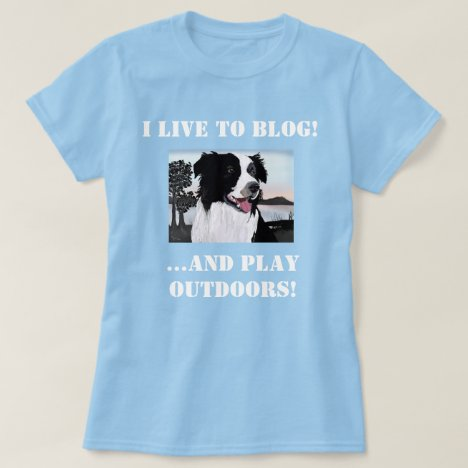 Bloggers Simple Editable Quote and Border Collie