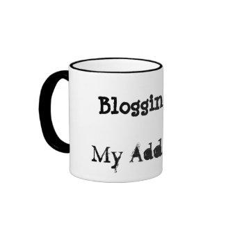 Blogging is... My Addiction Mug (4 of 4) mug
