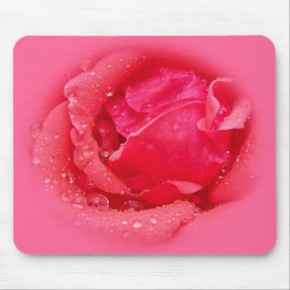 Blooming Rose mousepad