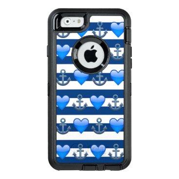 Blue Anchor Emoji iPhone 6/6s Otterbox Case